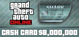 그랜드 테프트 오토 온라인: 메갈로돈 샤크 현금 카드[GTA V]
