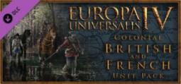 유로파 유니버셜리스 4: 식민주의 영국과 프랑스 유닛 팩