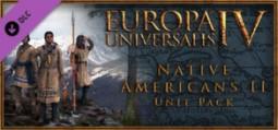 유로파 유니버셜리스 4: 아메리카 원주민 II 유닛 팩