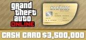 그랜드 테프트 오토 온라인: 웨일 샤크 현금 카드[GTA V]