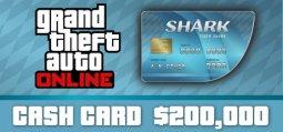 그랜드 테프트 오토 온라인: 타이거 샤크 현금 카드[GTA V]