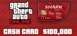 그랜드 테프트 오토 온라인: 레드 샤크 현금 카드[GTA V]