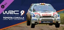 WRC 9 FIA 월드 랠리 챔피언십 - 토요타 코롤라 1999(스팀)